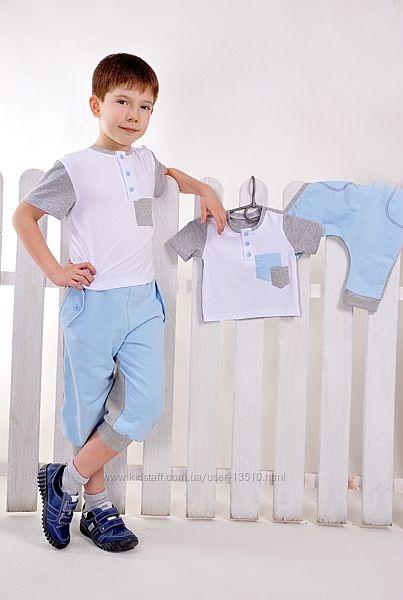 Летний костюмчик Little Winners мальчикам - распродажа
