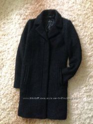 Тёплое шерстяное пальто осень-зима new look