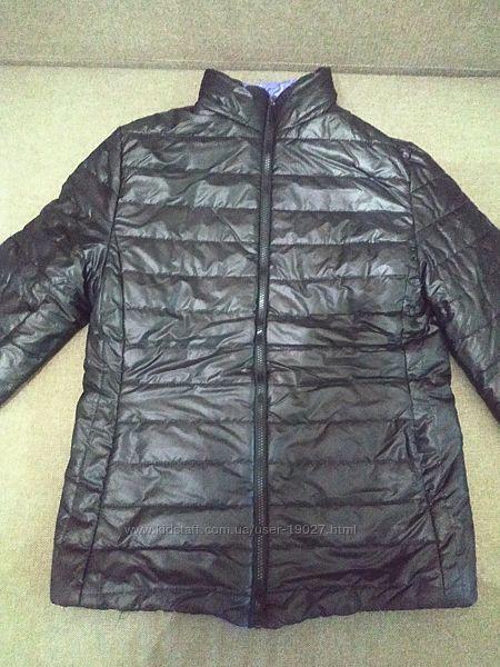двухсторонняя утепленная куртка С-М