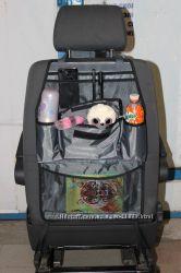 Защита на спинку сидения в авто -органайзер.
