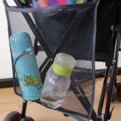 Сетка органайзер для игрушек  на коляску