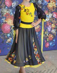 Платье Юниоры 1, стандарт. Рост 134-146