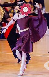 Платье Юниоры 1, латина. Рост 134-140, на худенькую девочку