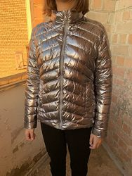 Серебреная куртка на 164см
