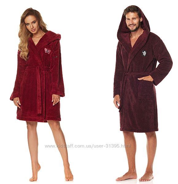L&L теплые качественные и комфортные женские и мужские халаты