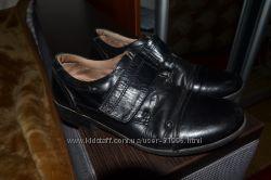 Кожанніе туфли р. 35