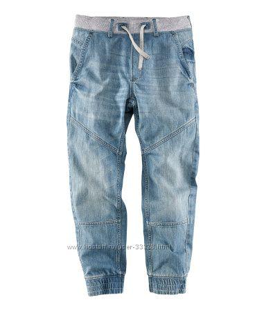 Брюки, джинсы на мальчиков подростков H&M рост 134-170