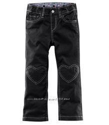 Стильные брюки для девочек H&M рост 92-128