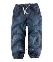 Стильные джинсы и брюки H&M на мальчиков рост 86-128