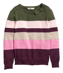 Кофты, кардиганы, свитера на девочек H&M рост 86-128