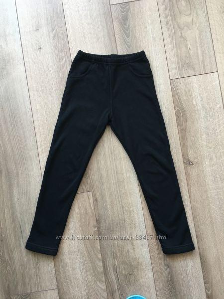 Утепленные лосины-штанишки на рост 122-128 см