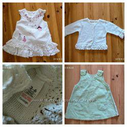 Плаття для дівчинки 3-6 місяців платье девочка george next tu
