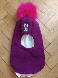 Зимние шлемы от Бизи для девочек