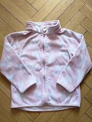 Розовая флиска в Минни от НМ