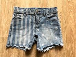 Джинсовые шорты Gap размер 10 slim