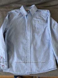Рубашка в школу на мальчика 128-134 см