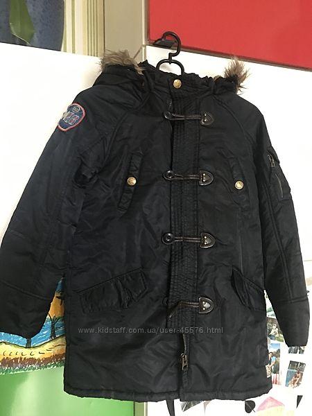 Куртка зимняя Mexx мальчик 134 см