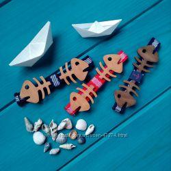 Деревянный галстук-бабочка