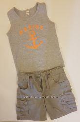 Наши брендовые шортики и капри MOTHERCARE и OKAIDI на мальчика. Недорого