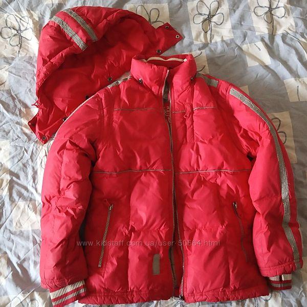 Супер теплая зимняя куртка на пуху Sela