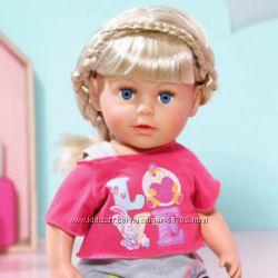 820704 Кукла BABY BORN - Старшая сестренка 43 см, с аксессуарами