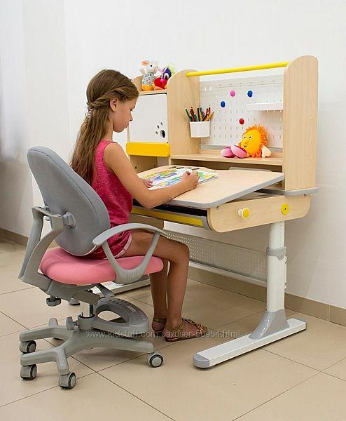Детский стол Mealux Toronto Evo-650. Парта трансформер для школьника