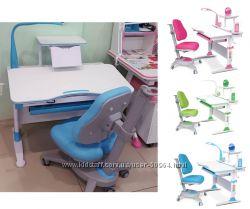 Комплекты Evo-Kids для Школьников. парта траснформер и кресло со Скидкой