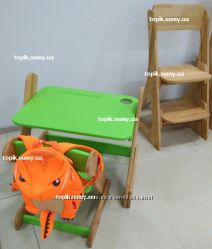 Детские наборы. Стол и стульчик Карапуз для детей от 1 года. Доставка 0