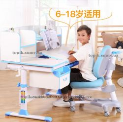 Комплект Школьнику парта и кресло Evo-kids Evo-50 Blue. Доставка