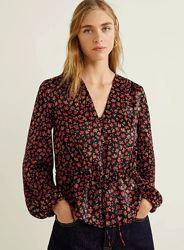 Блуза Mango размер S с рубашка, футболка zara bershka stradivarius