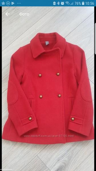 Классическое пальто Zara 9-10 лет