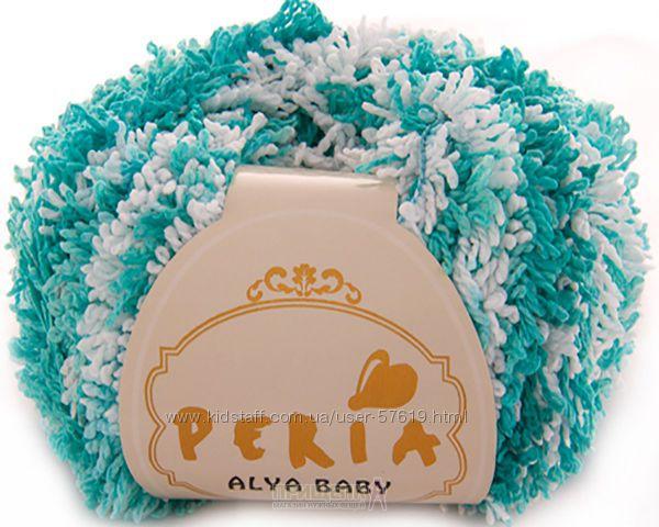 Пряжа 015 Peria Alya Baby Алая Беби махра