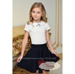 Самая модная школьная форма сезона- Viani девочкам. Блузка, рубашка, гольф.