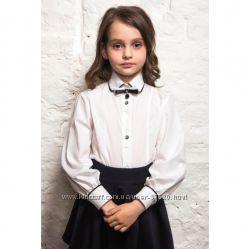 Школьная блузка, блуза, рубашка - нарядная и на каждый день. Большой выбор.