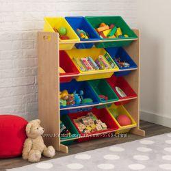 Стеллаж для книжек и игрушек Kidkraft