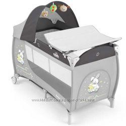 Кроватка-манеж CAM Daily Plus, 2 уровня, пеленатор