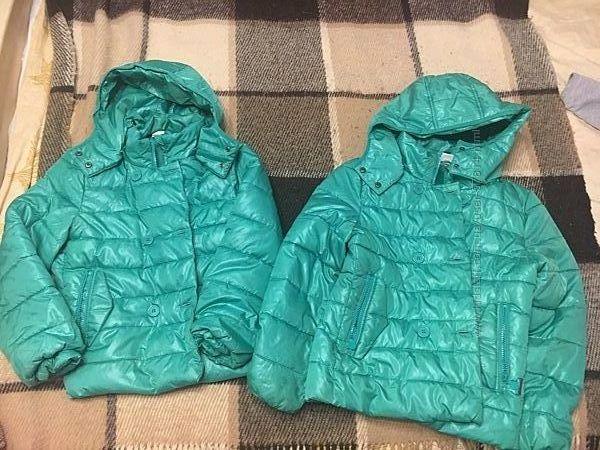 Две деми курточки Coccodrillo 140 и150