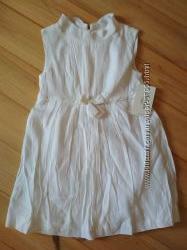 Нарядное платье ZARA на 7-8 лет, маломерит