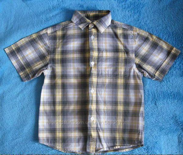 Рубашка - шведка с коротким рукавом Rebel, р. 122