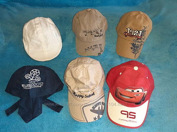 Бейсболки, кепки, бандана мальчику - р.52-54