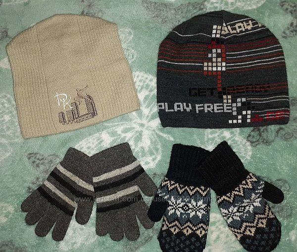 Демисезонные шапки Arctic р.50-54, перчатки, варежки для мальчика