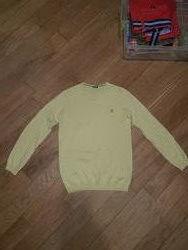 Желтый свитер Benetton Оригинал 8-9 лет, 140 см  Очень качественный