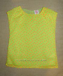 Наши летние красивущие блузочки на модницу - Chicco, Zara