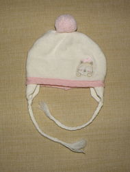 Зимняя теплая шапочка Chicco на малышку