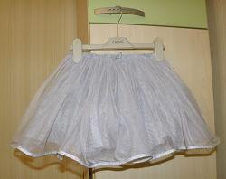 Супер юбочка ту-ту Next - серебристое облачко для принцессы