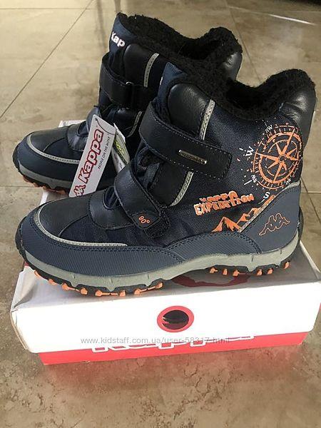 Kappa оригинал из Америки зимних ботинок, бесплатная доставка