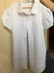 Новая школьная блузка M&S р. 164, 15-16 лет
