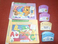 Книги и картриджи некомплект, подушка Little Touch LeapPad LeapFrog