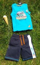 Комплект майка и шорты C&A Германия размер 110