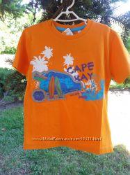 Яркая новая футболка C&A распродажа 116 рр